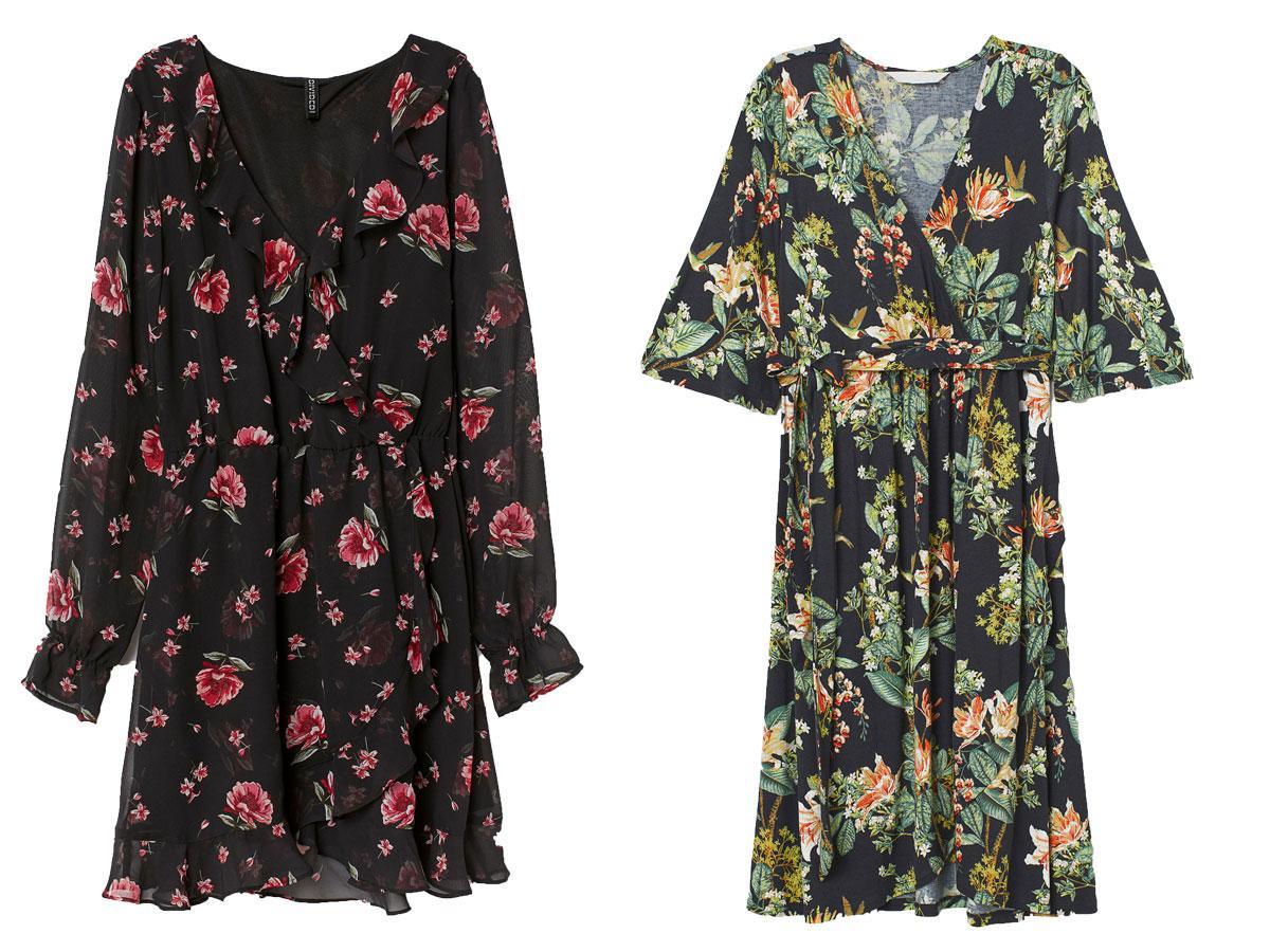 Sukienki w kwiaty z H&M