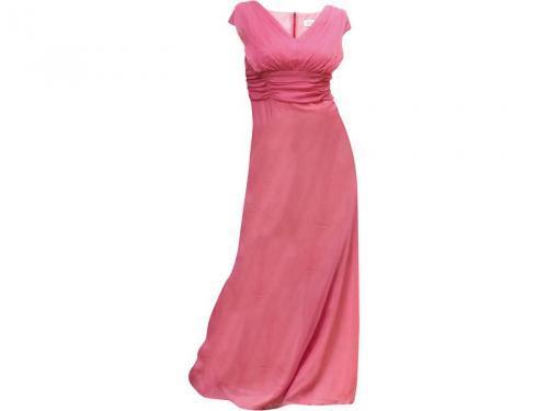 różowa sukienka wieczorowa Gapa Fashion długa