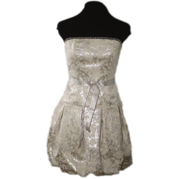 srebrna sukienka wieczorowa Kasia Hubińska
