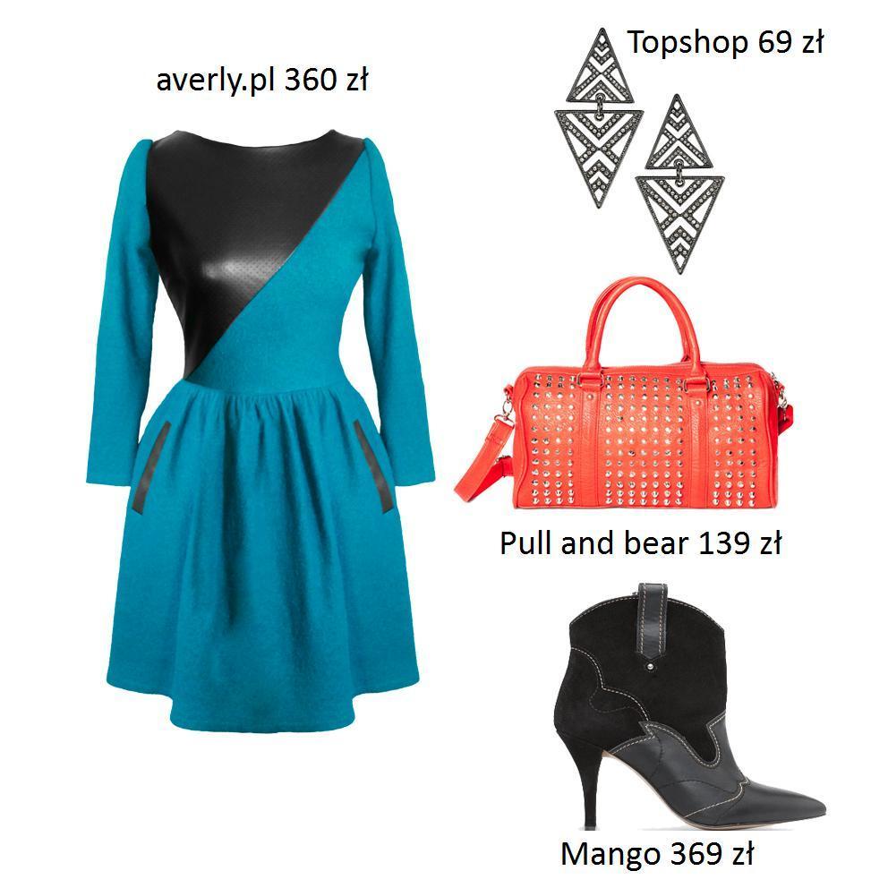 Rozkloszowane sukienki - stylizacje