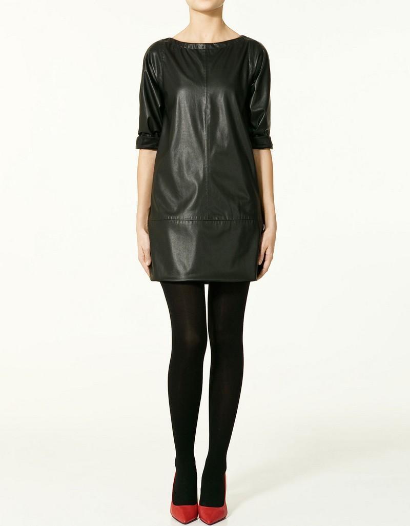 czarna sukienka ZARA - wiosna 2011