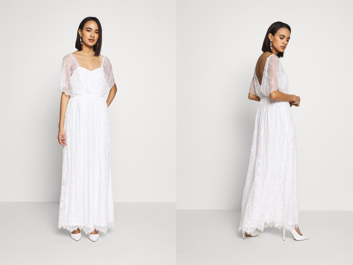 Suknia ślubna tania