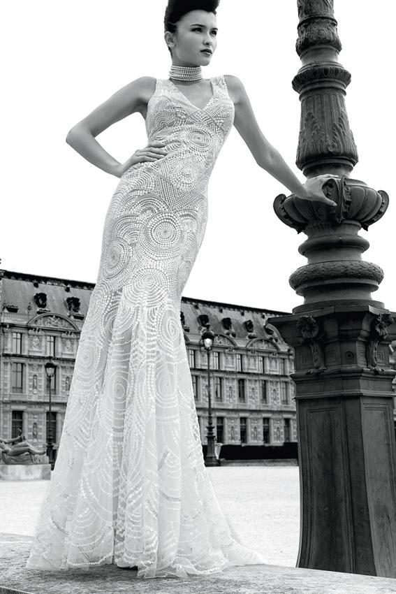 Suknie ślubne Cymbeline 2013 - model Grafitti
