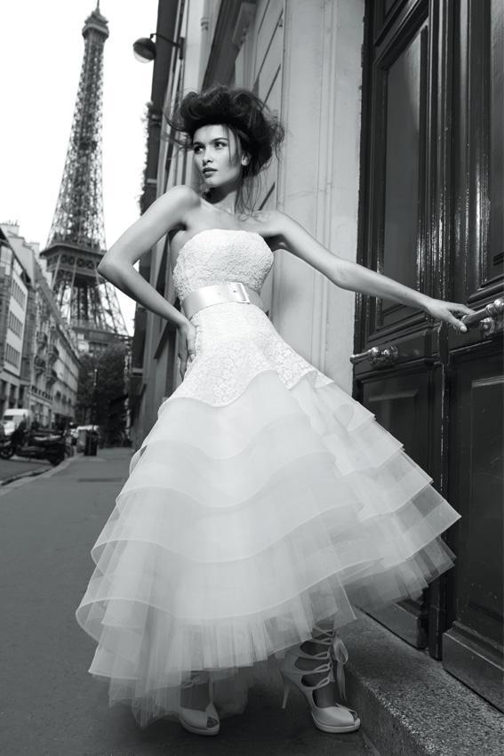 Suknie ślubne Cymbeline 2013 - model Grace - linia les privees