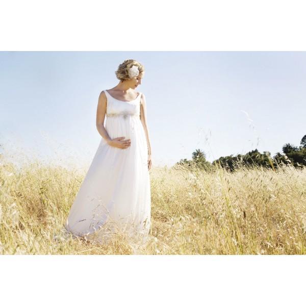 Suknia ślubna Charm Girl Odcinana Pod Biustem Suknie ślubne Dla