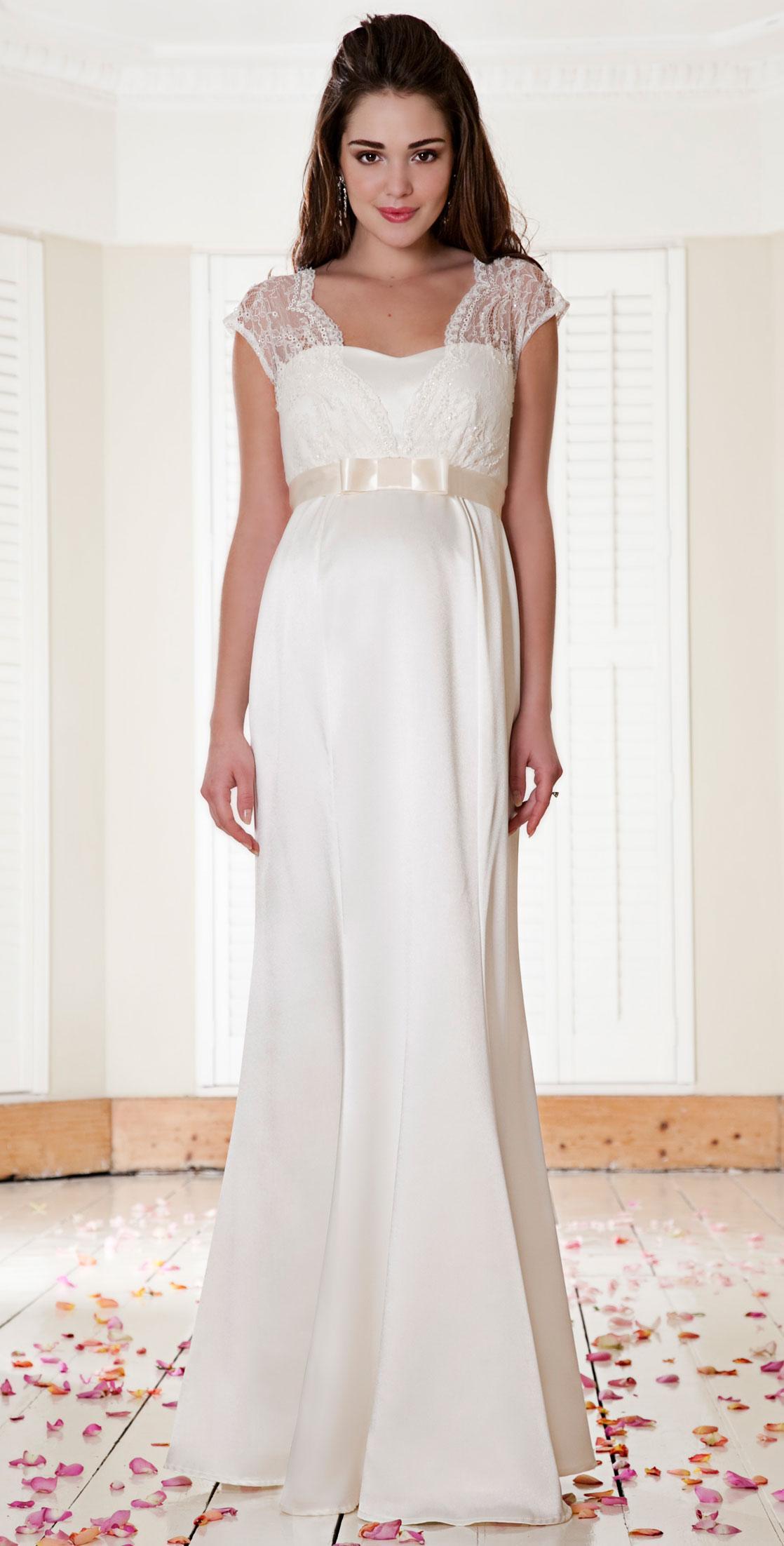 Suknia ślubna Tiffany Rose Z Paskiem Suknie ślubne Dla Kobiet W