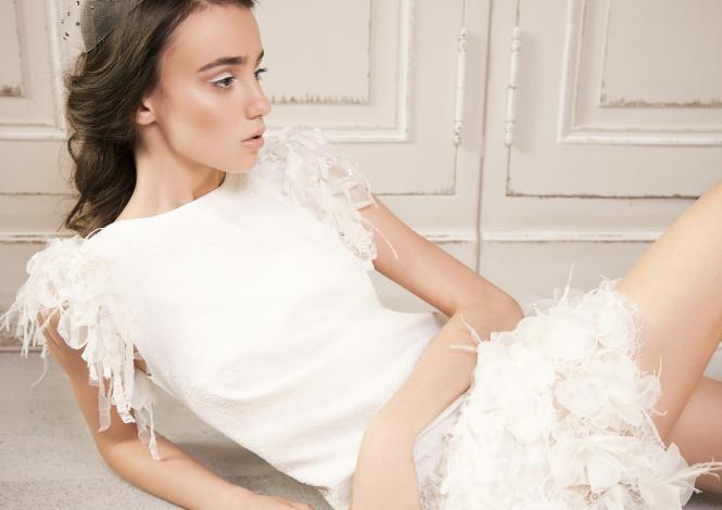 suknia ślubna Femini krótka