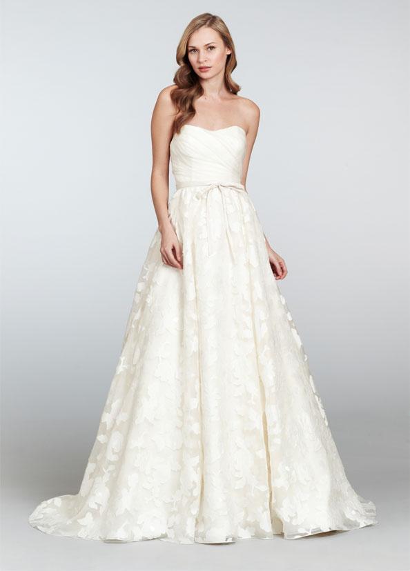 Suknia ślubna Hayley Paige W Kwiaty Przód Suknie ślubne Hayley