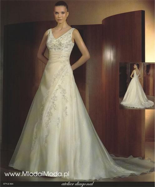 Suknie ślubne salonu Młoda i Moda - kolekcja 2008 - zdjęcie