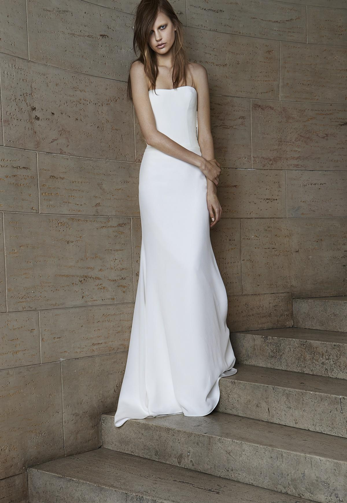 suknia ślubna Vera Wang prosta