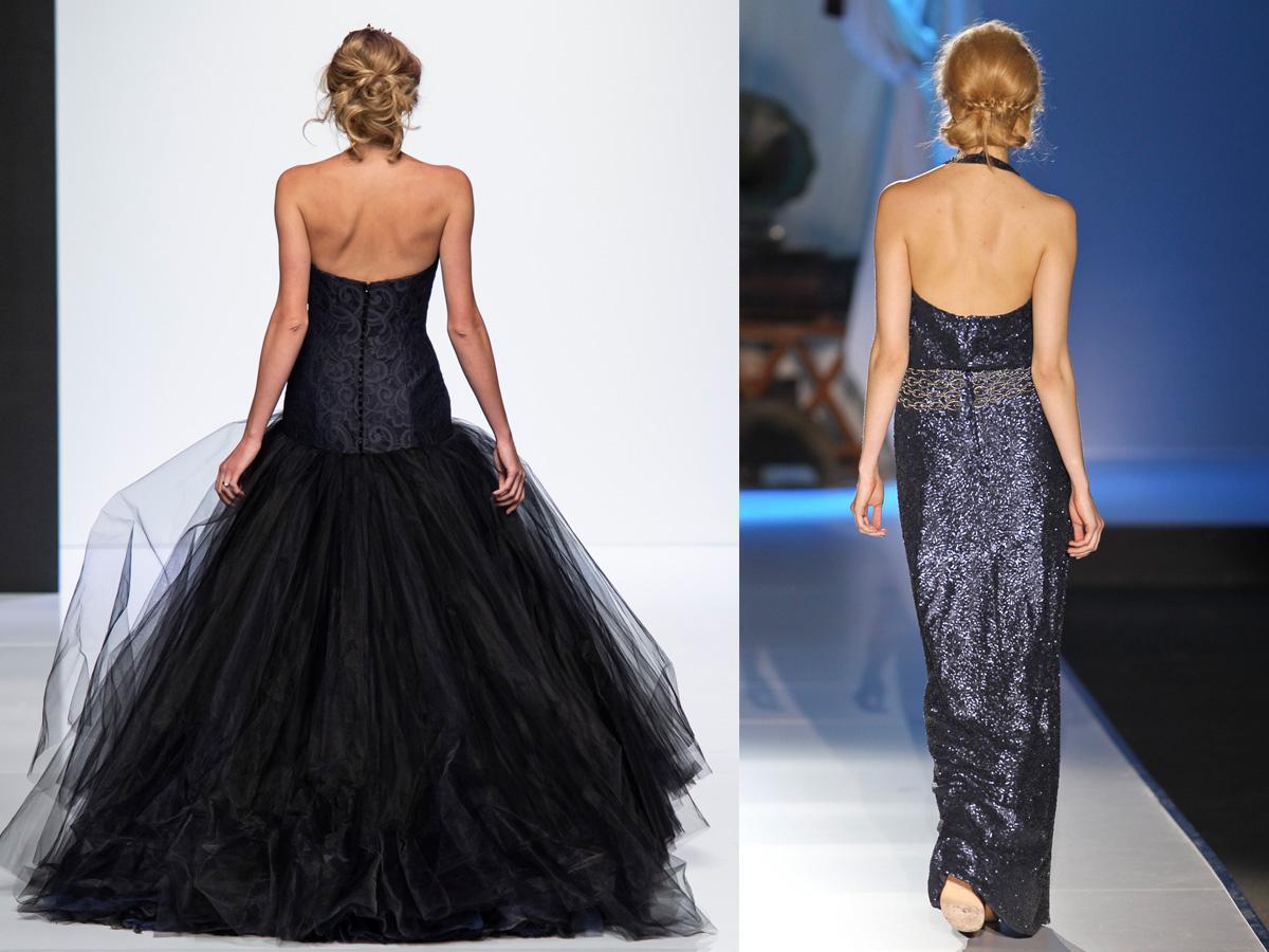 Sukienki wieczorowe z odkrytymi plecami