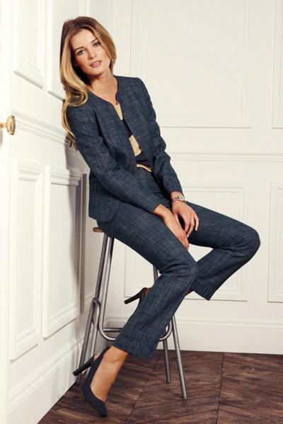 garnitur Next jeansowy - trendy wiosna/lato 2013
