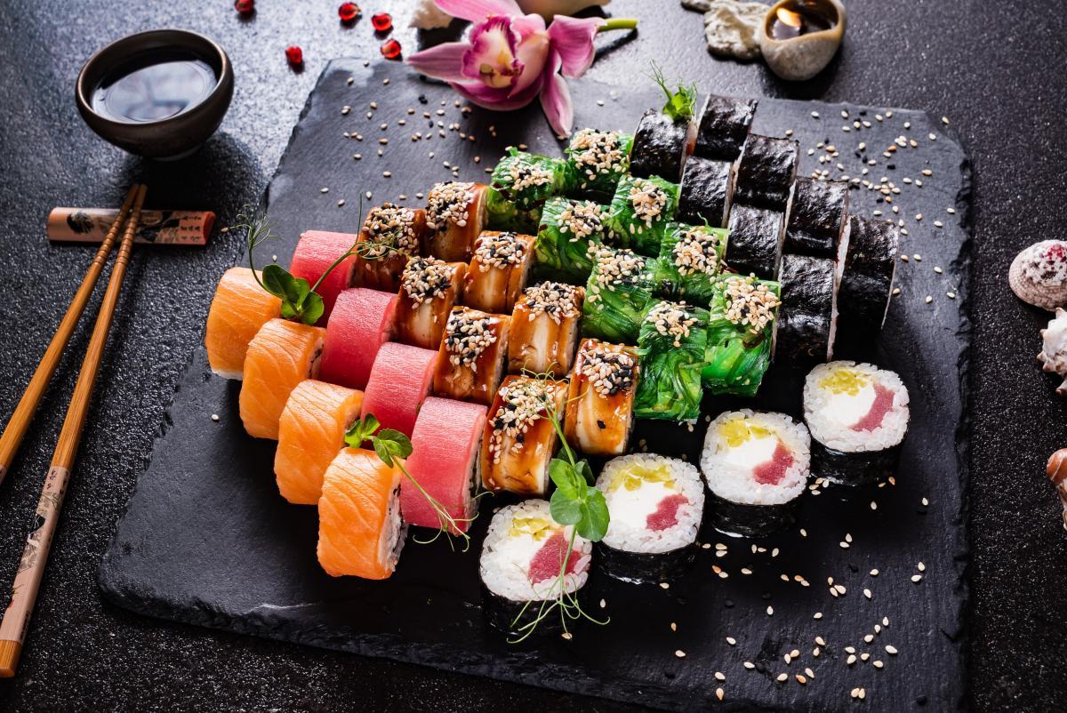 sushi a zdrowie
