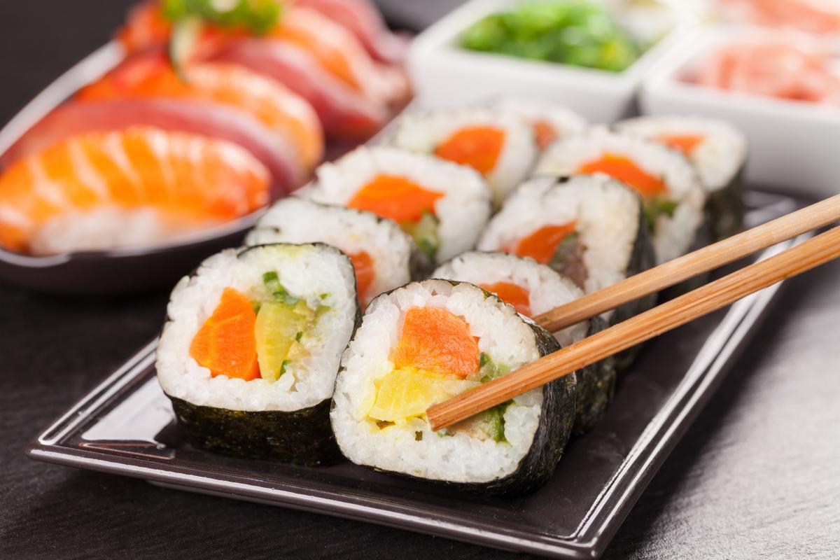 sushi czy zdrowe