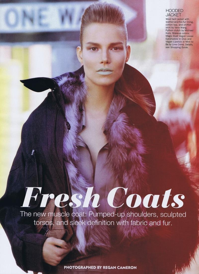 Allure Magazine październik 2011 - Suvi Koponen