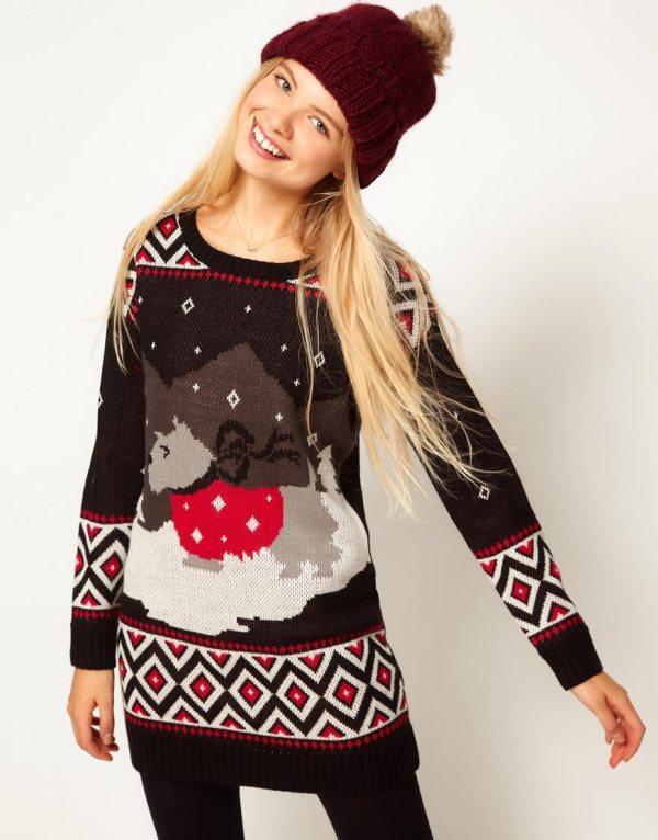 Swetry i sweterki z motywem świątecznym - przegląd