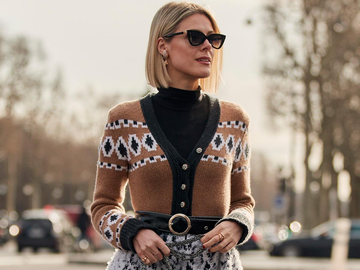 kardigany swetry jesień 2020