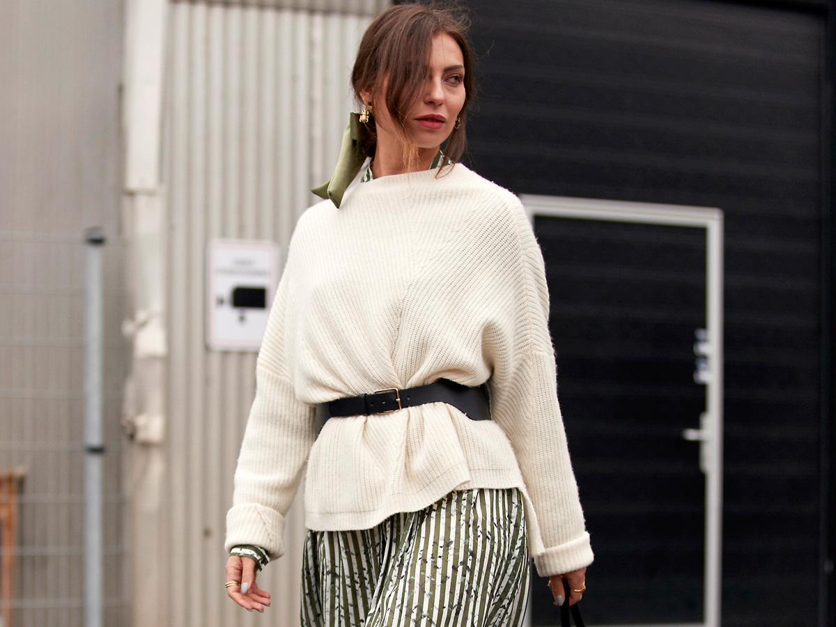 swetry oversize jesień 2020