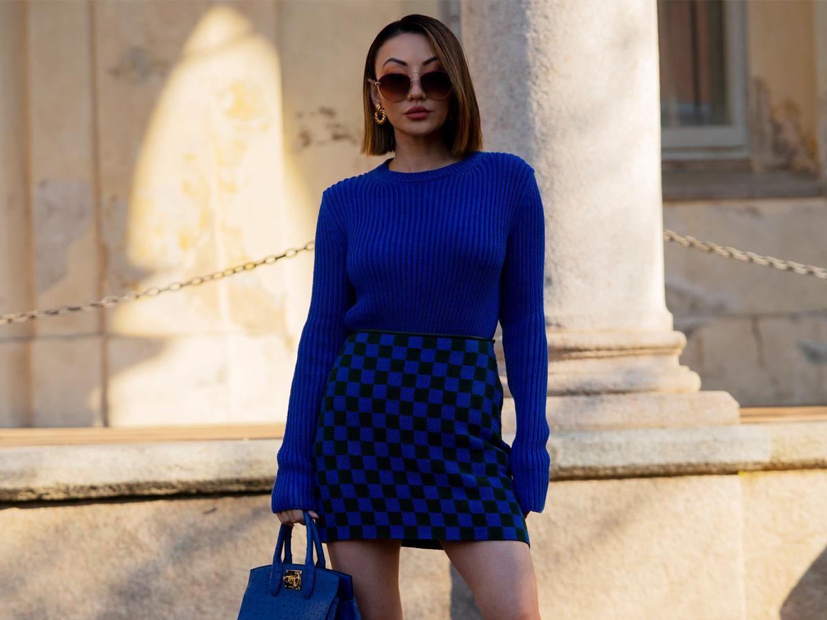 swetry w intensywnych kolorach jesień 2020