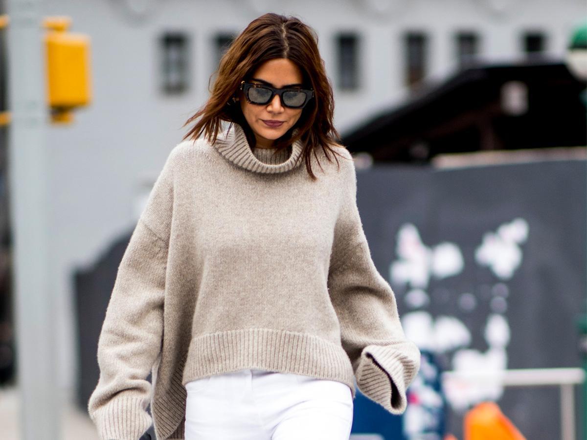 swetry z golfem jesień 2020