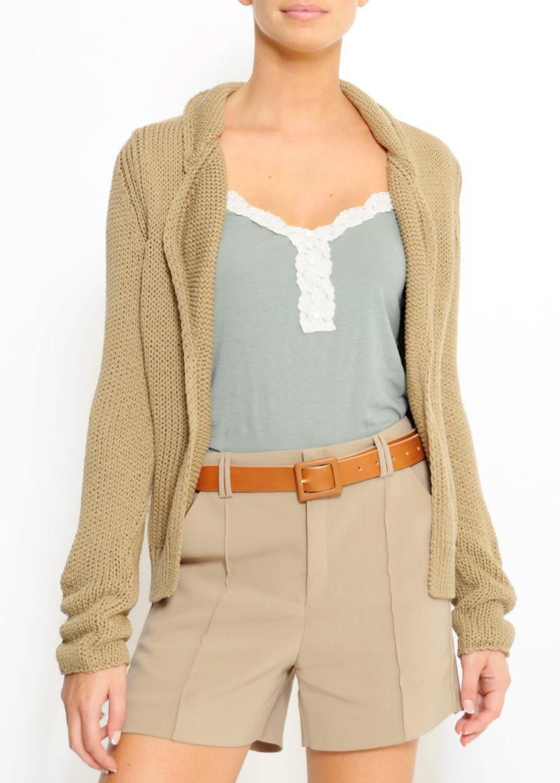 brązowy sweter Mango - wiosna/lato 2011