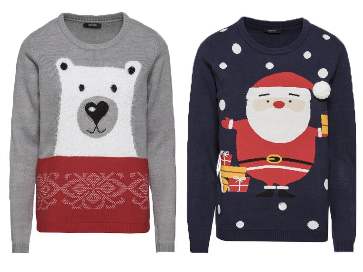 Swetry świąteczne damskie Lidl