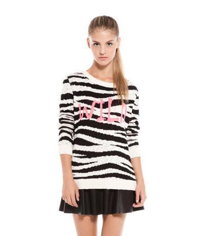 Swetry w zwierzęce printy znowu modne