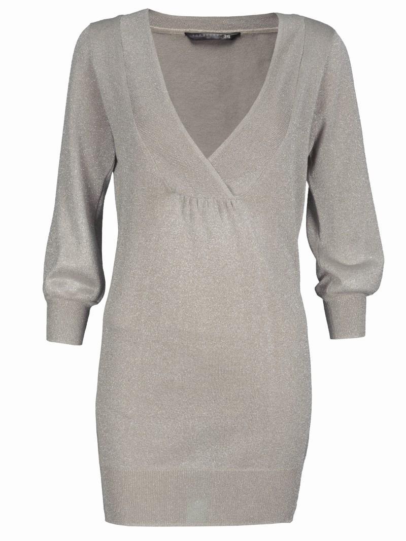 szary sweter Top Secret - moda wiosna/lato