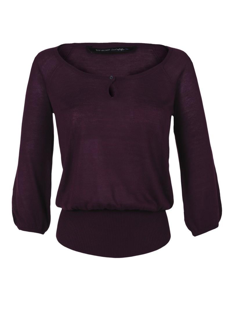 fioletowy sweter Top Secret - wiosenna kolekcja