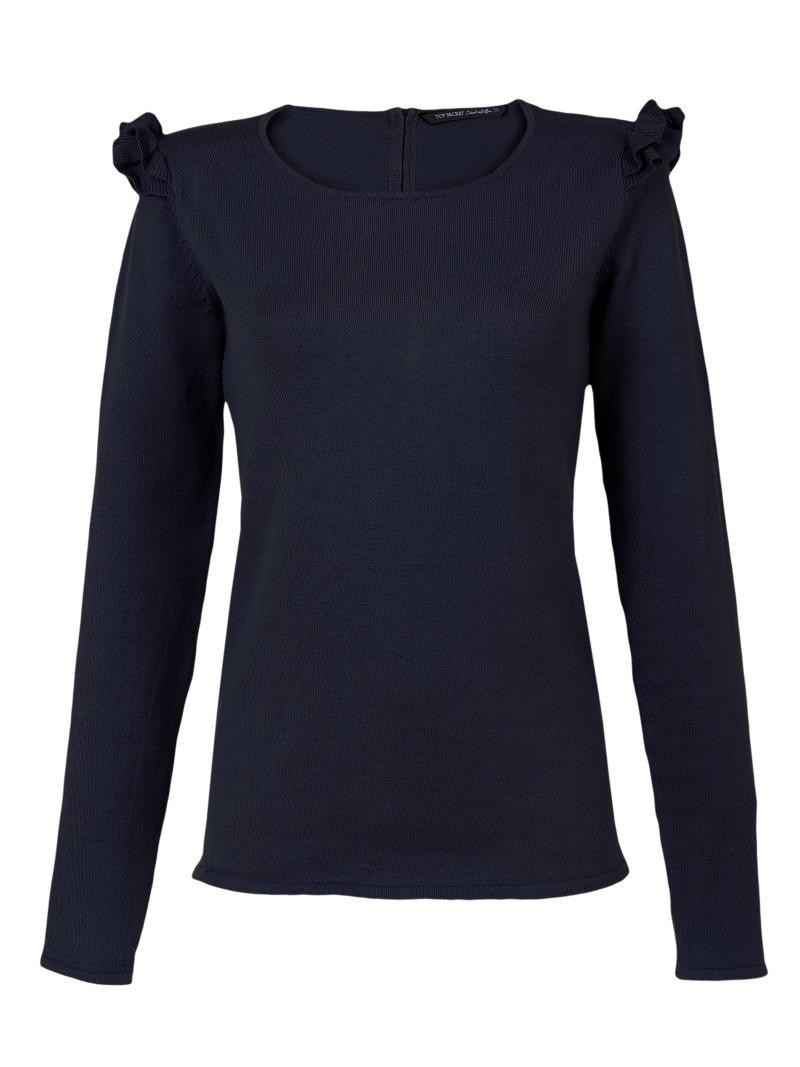 granatowy sweter Top Secret - wiosna-lato 2011