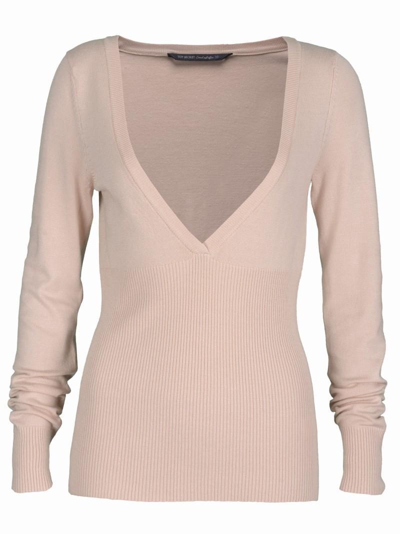 różowy sweter Top Secret - z kolekcji wiosna-lato 2011