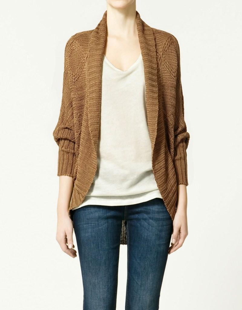 Swetry Zara - kolekcja dla kobiet wiosna/lato 2011
