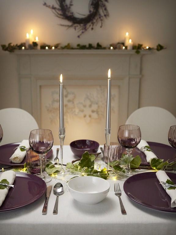 Zastawa stołowa na święta