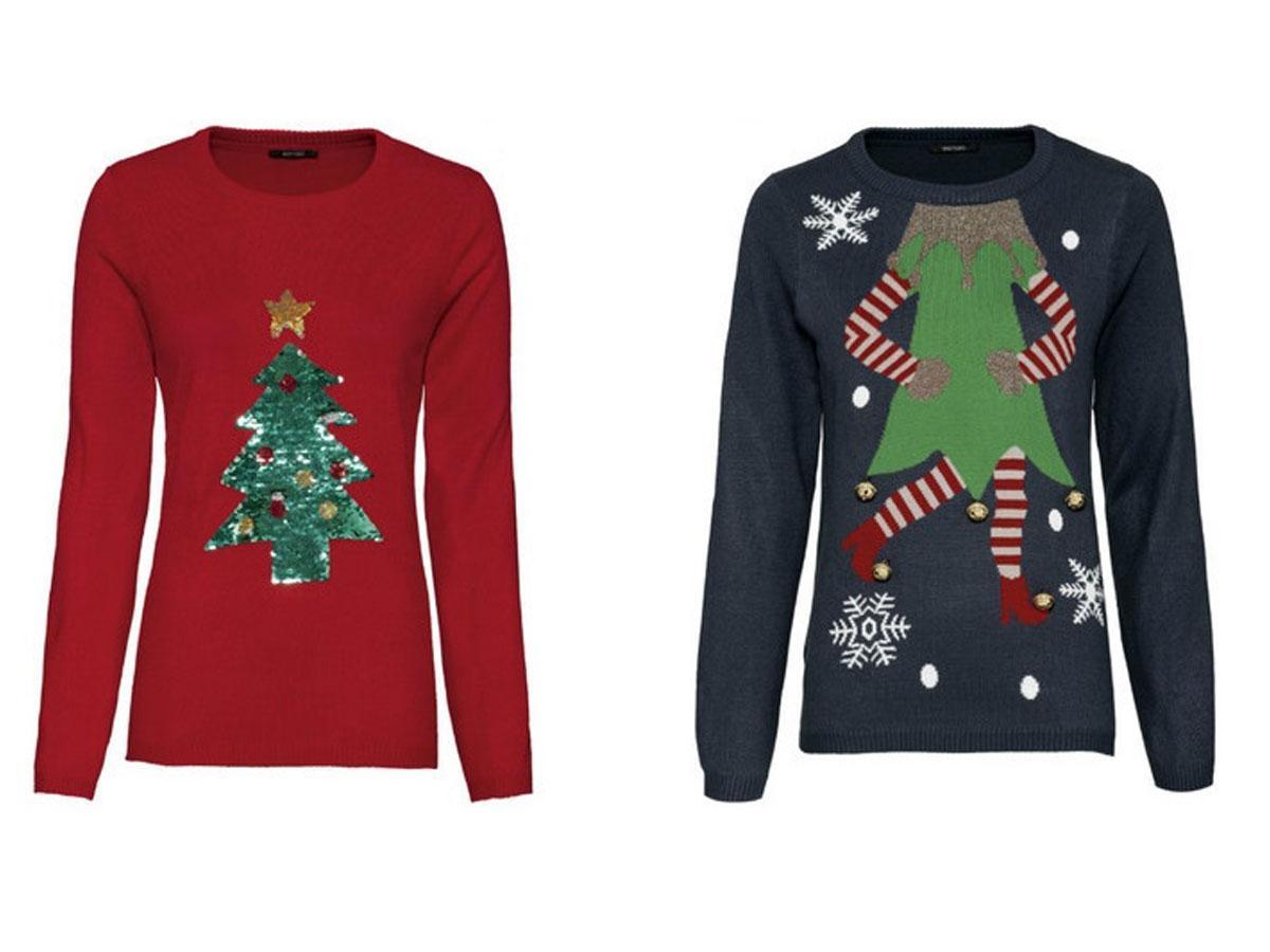 Świąteczne swetry z Lidla