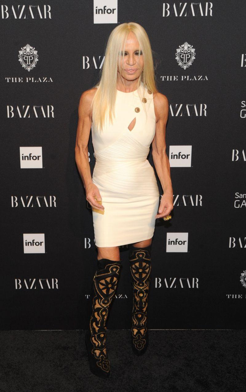 Harper's Bazaar Celebrates Icons by Carine Roitfeld: Donatella Versace