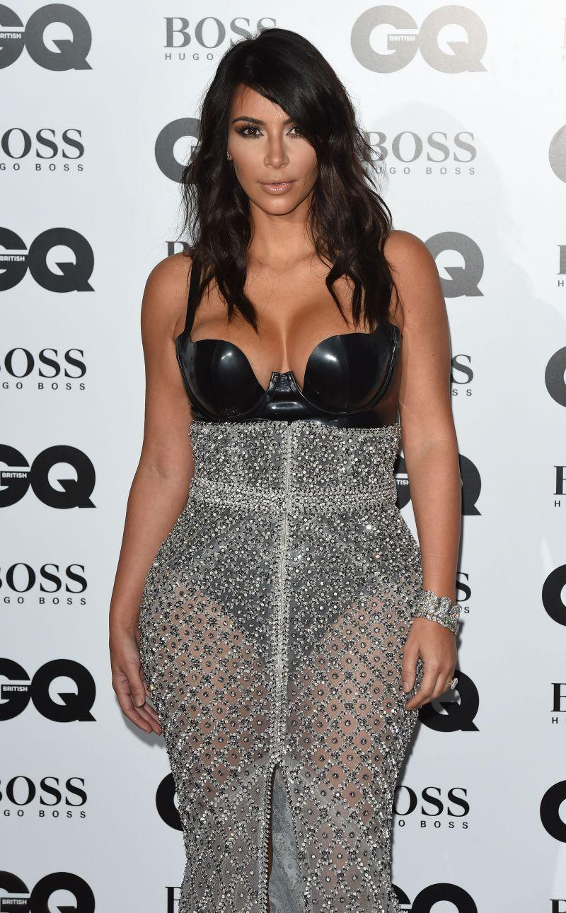 GQ Men of the Year Awards 2014: Kim Kardashian