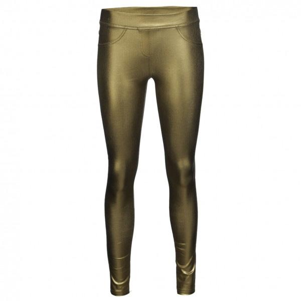 Złote legginsy New Yorker