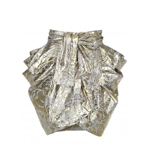 Spódnica mini, złota, River Island