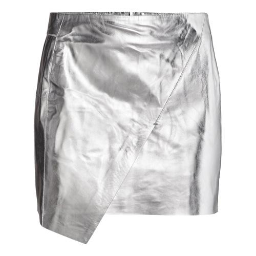 Srebrna spódniczka, H&M