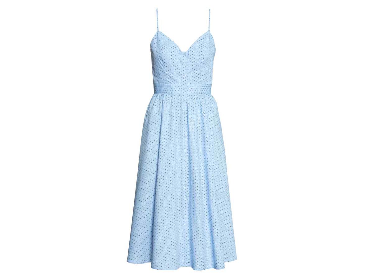Błękitna sukienka H&M, cena