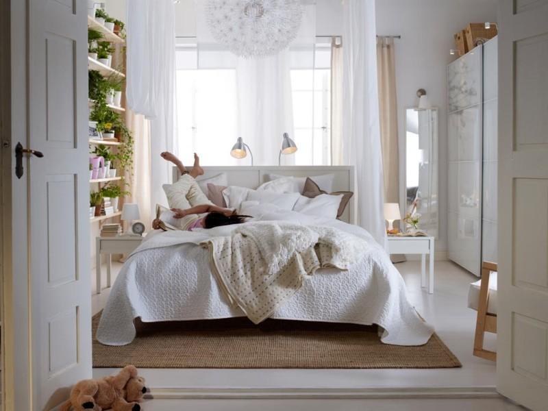 Ikea sypialnia