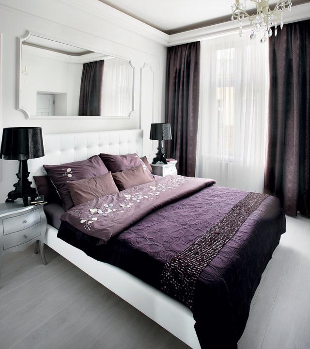 Sypialnia w stylu klasycznym - Dom - Aranżacje wnętrz ...
