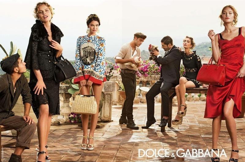 Kampania Dolce & Gabbana wiosna-lato 2014