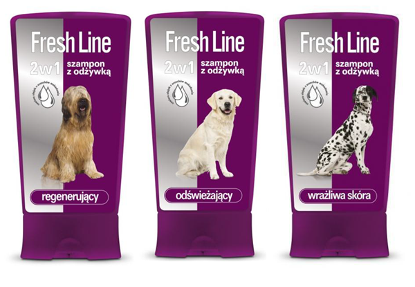 Szampony dla psów Fresh Line