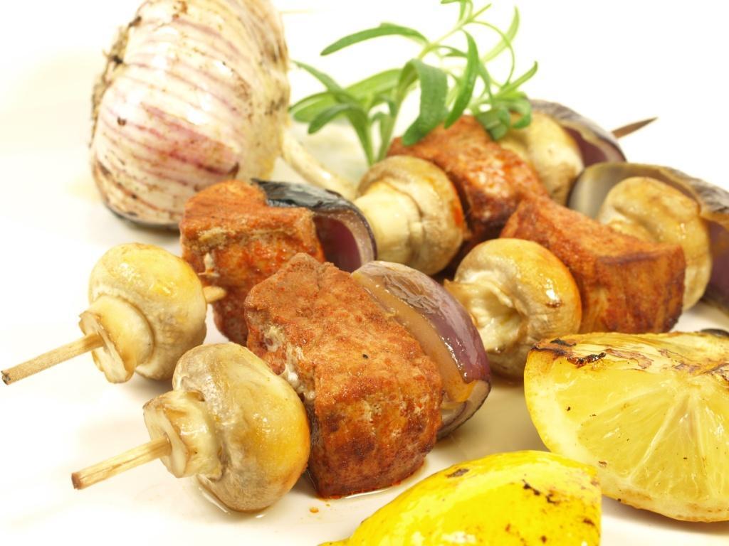 Szaszłyki mięsno-warzywne - idealne na grilla