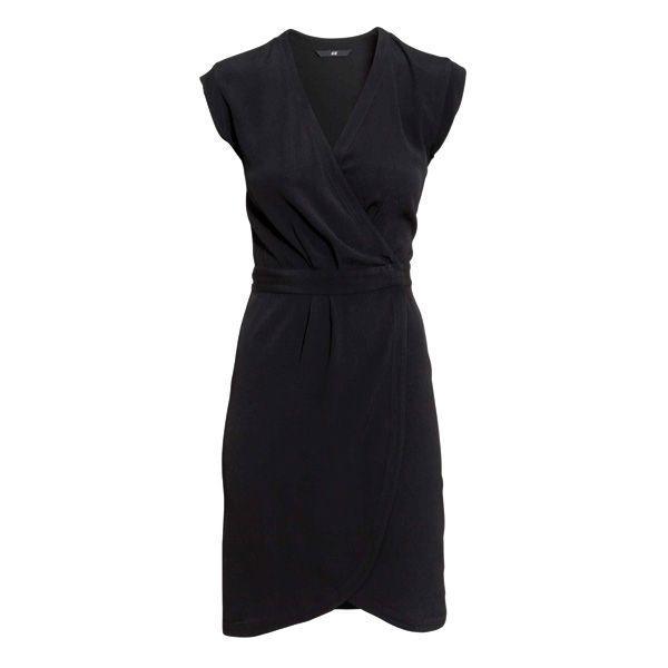 558b8d1d50 Czarna sukienka H amp ...