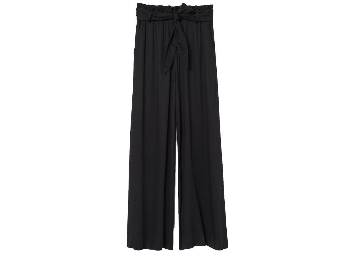 szerokie spodnie H&M