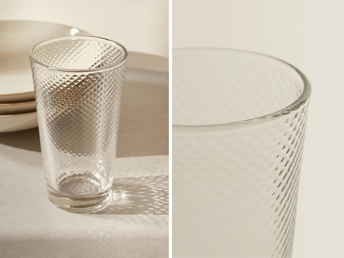 Zara - szklanka 9,90 zł