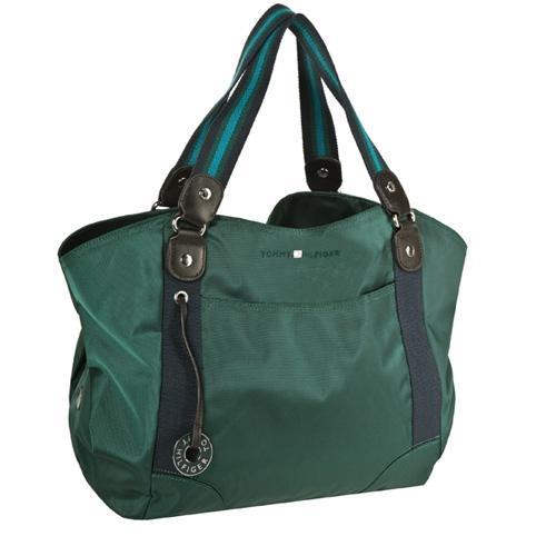 Zielona torba, Tommy Hilfiger