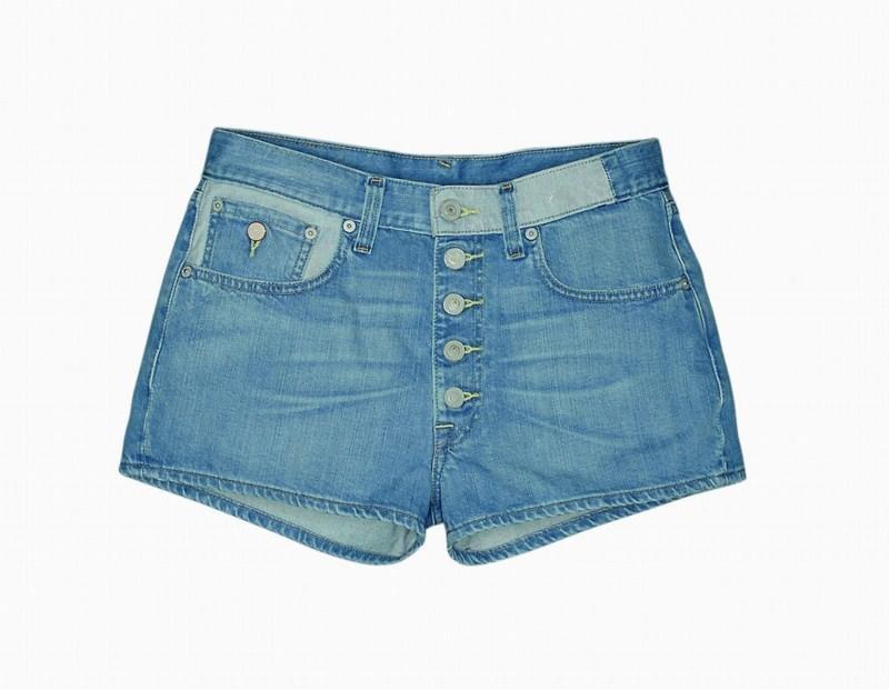 niebieskie szorty Levis dżinsowe - kolekcja wiosenno/letnia